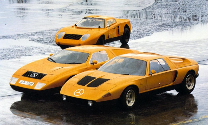 1969 Mercedes-Benz C111 and 1970 C111-II 15
