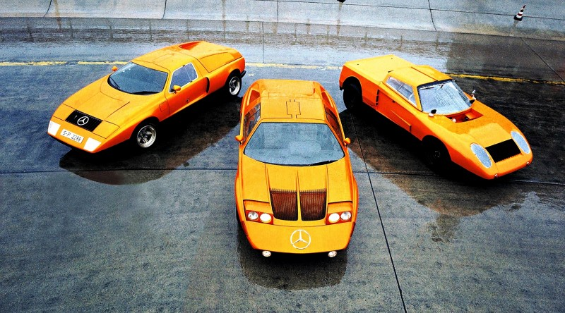 1969 Mercedes-Benz C111 and 1970 C111-II 16