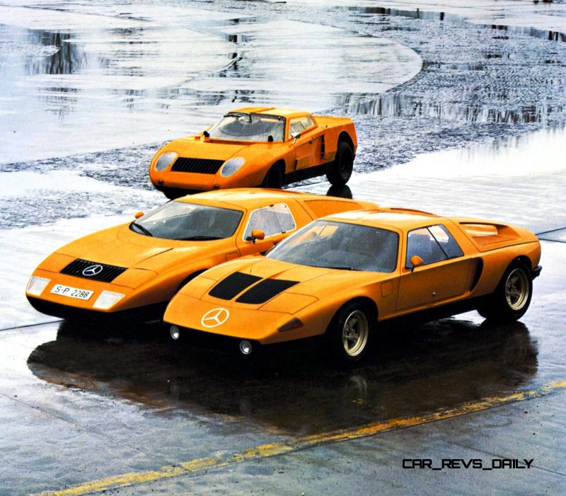 1969 Mercedes-Benz C111 and 1970 C111-II 23