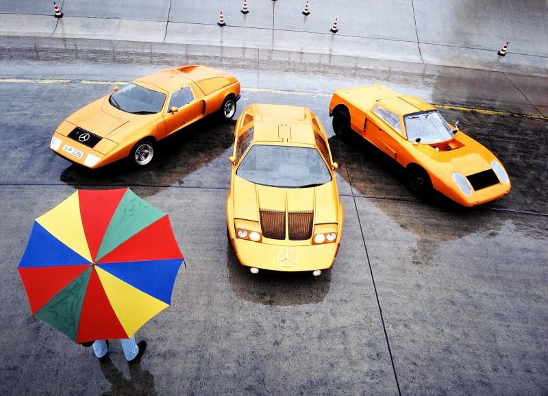 1969 Mercedes-Benz C111 and 1970 C111-II 29