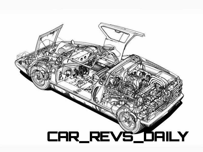 1969 Mercedes-Benz C111 and 1970 C111-II 35