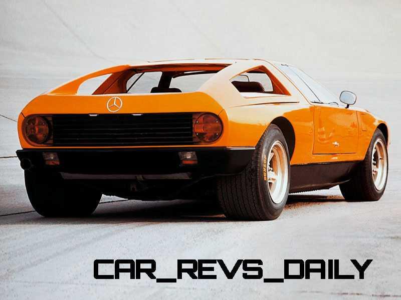 1969 Mercedes-Benz C111 and 1970 C111-II 42