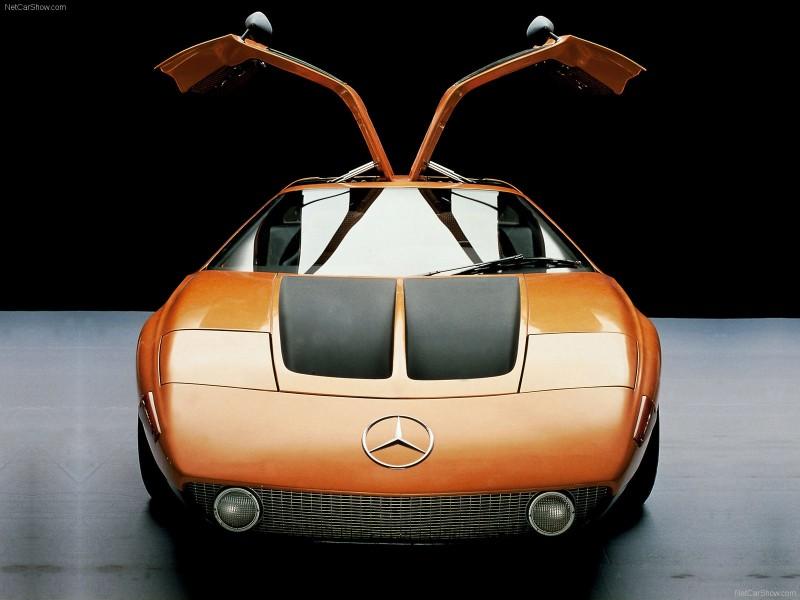 1969 Mercedes-Benz C111 and 1970 C111-II 53