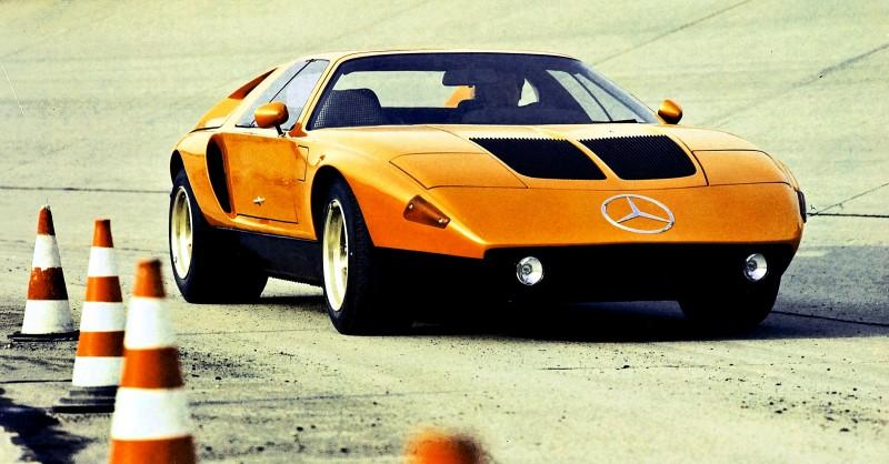1969 Mercedes-Benz C111 and 1970 C111-II 55
