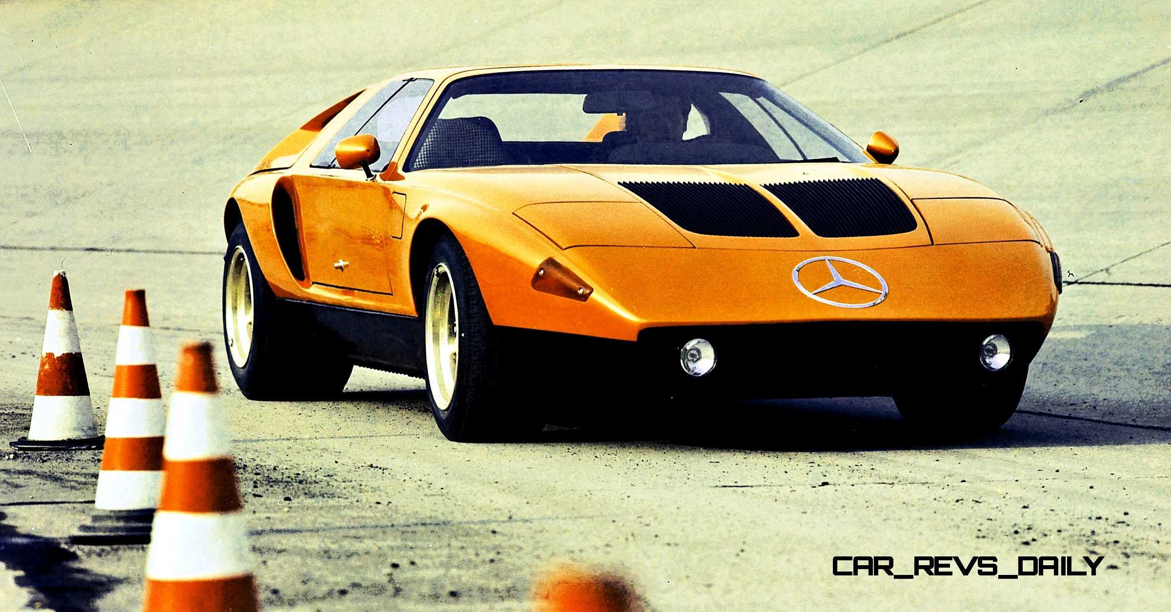 1969 mercedes benz c111 and 1970 c111 ii