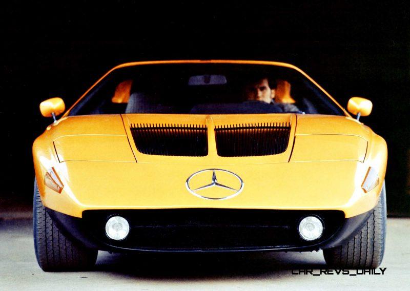 1969 Mercedes-Benz C111 and 1970 C111-II 57