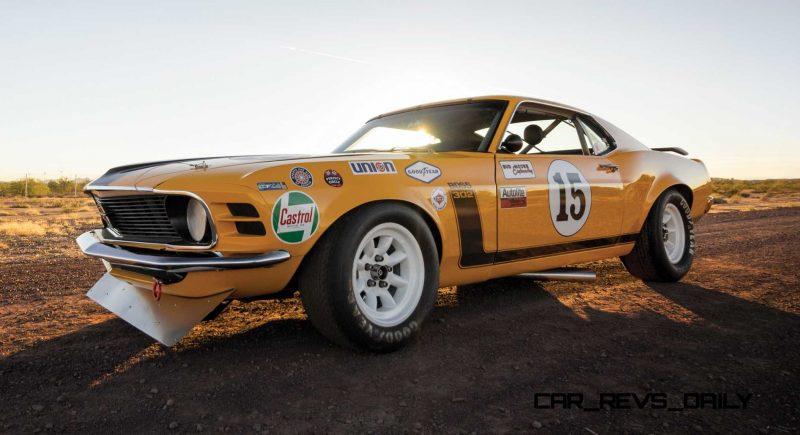 1970 Ford Mustang Boss 302 Kar Kraft Trans Am 1