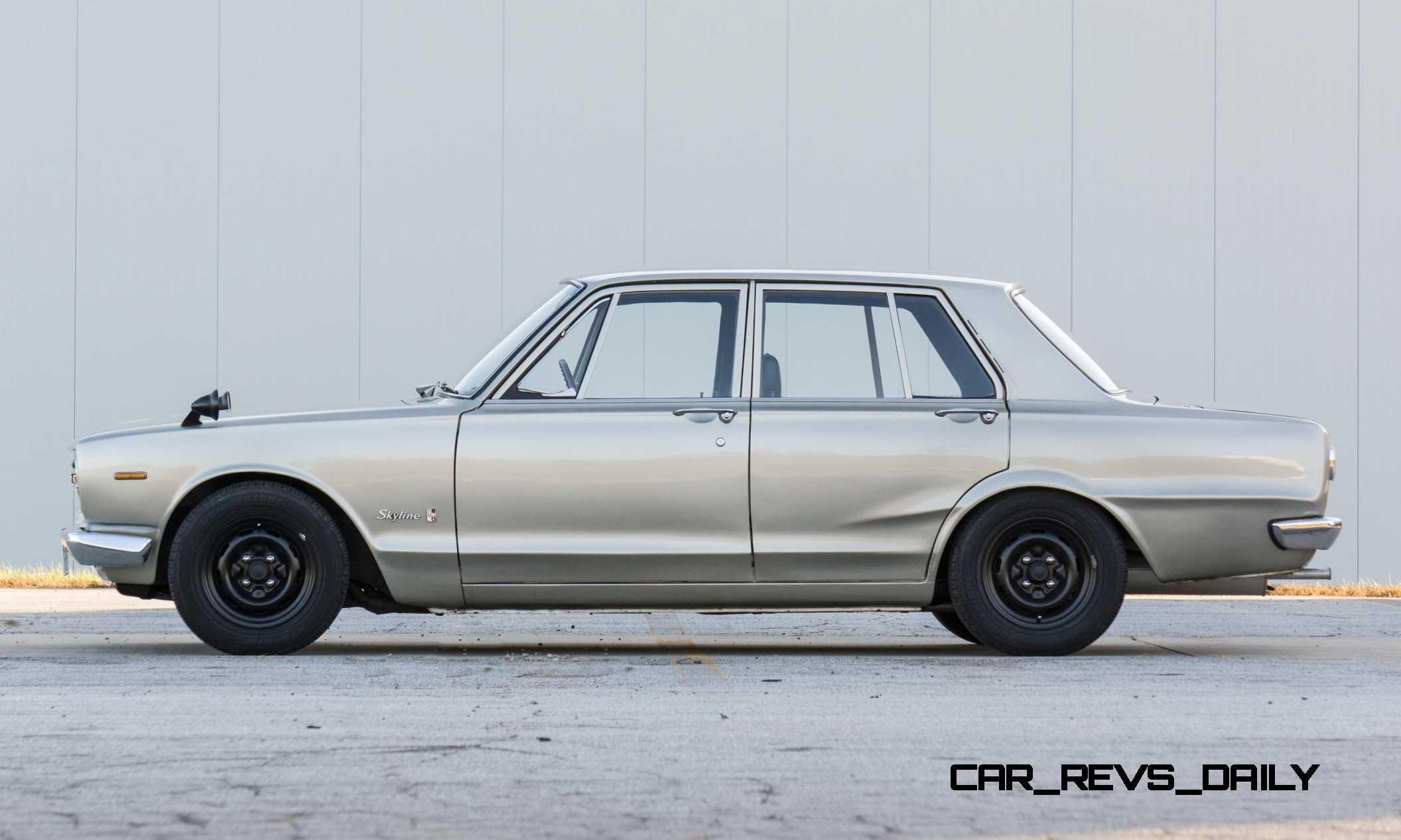 1970 nissan skyline 2000 gt r hakosuka sedan 7 rh car revs daily com 1970 nissan skyline 2000 gtr for sale 1967 Nissan Skyline 2000 GTR