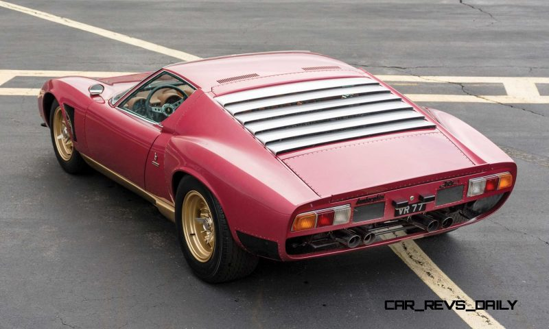 1971 Lamborghini Miura SV Jota 2