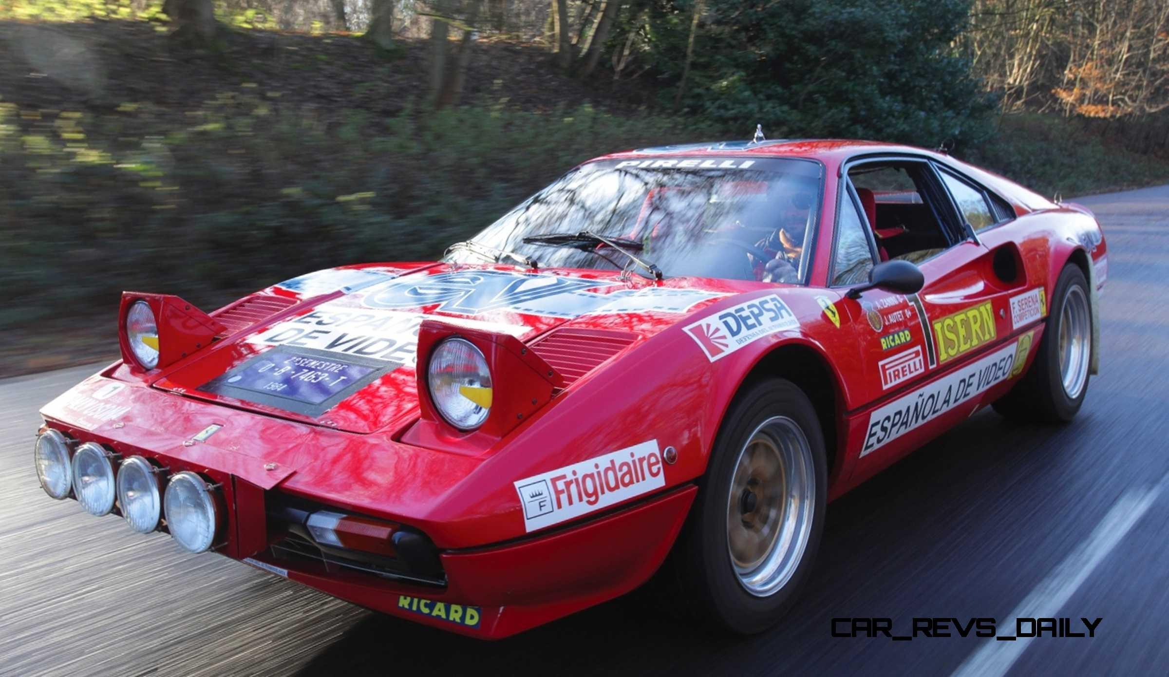 1978 Ferrari 308 Gtb Group B Rally Car