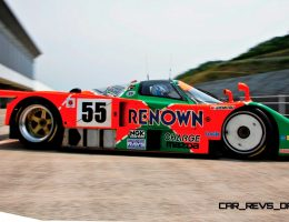 Racing Icons – 1991 Mazda 787B LMP1 Winner + Rotary Engine Timeline