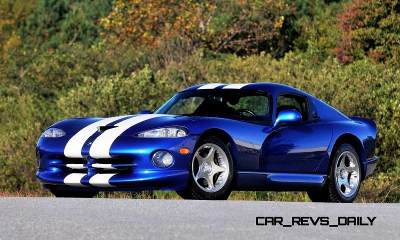 1996 Dodge Viper GTS Coupe 1