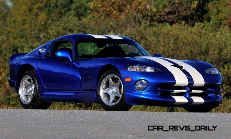 1996 Dodge Viper GTS Coupe 12