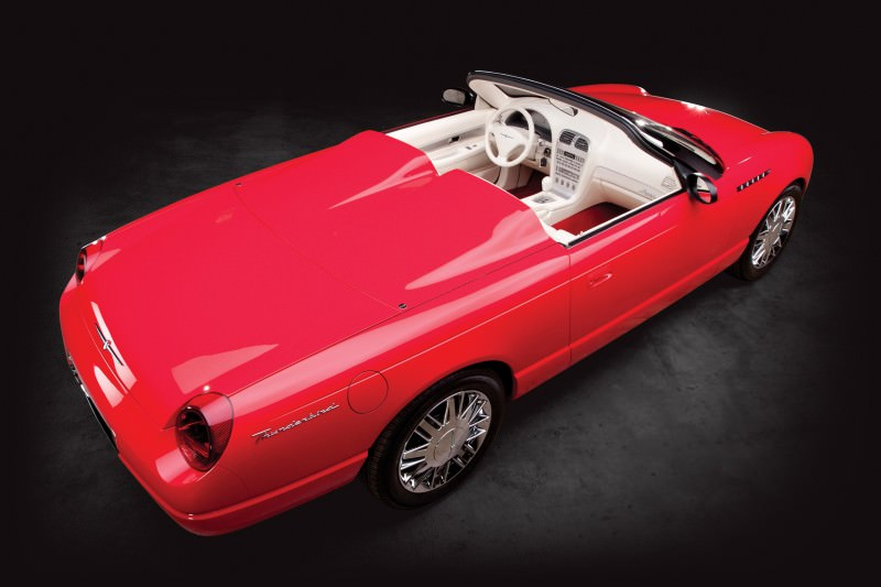 2001 Ford Thunderbird Sports Roadster Concept  16