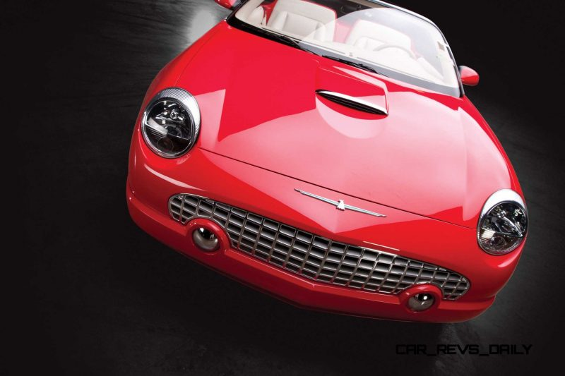 2001 Ford Thunderbird Sports Roadster Concept  17