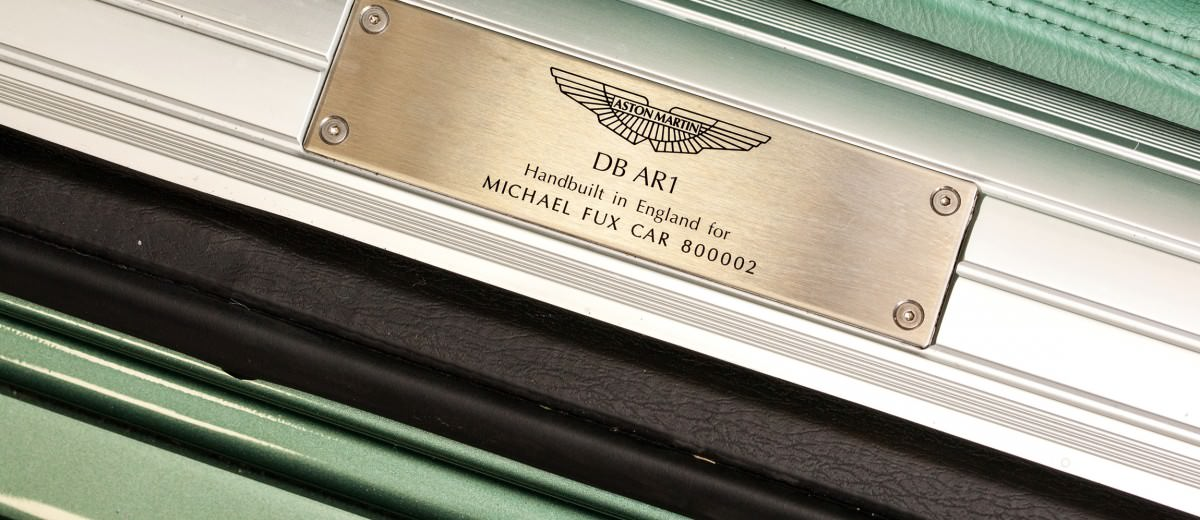 2003 Aston Martin DB AR1 by Zagato 7