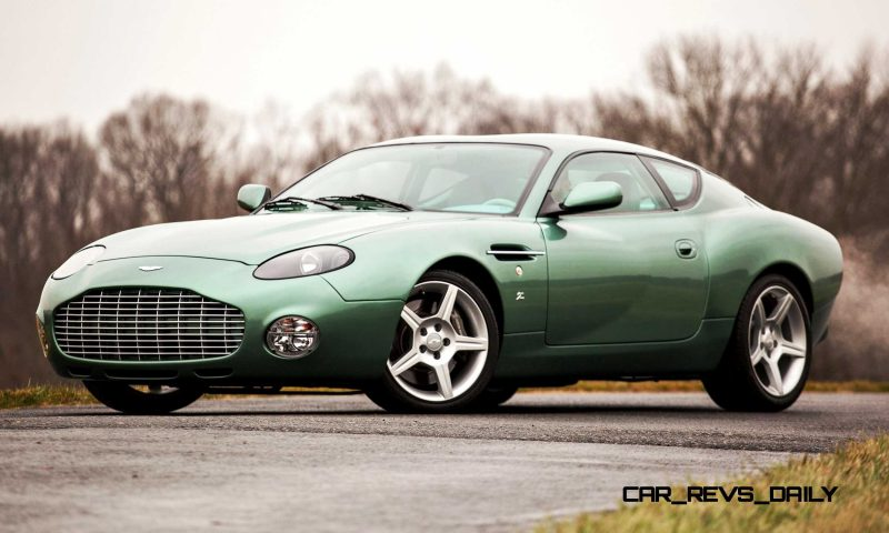 2003 Aston Martin DB7 Zagato 1