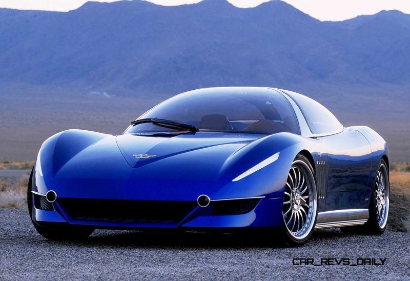 2003 ItalDesign Moray Corvette By Giugiaro 11