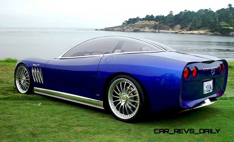 2003 ItalDesign Moray Corvette By Giugiaro 16