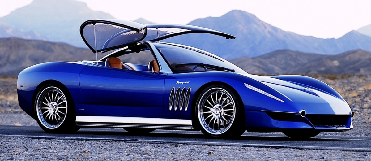 2003 ItalDesign Moray Corvette By Giugiaro