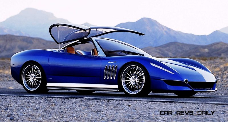 2003 ItalDesign Moray Corvette By Giugiaro 18