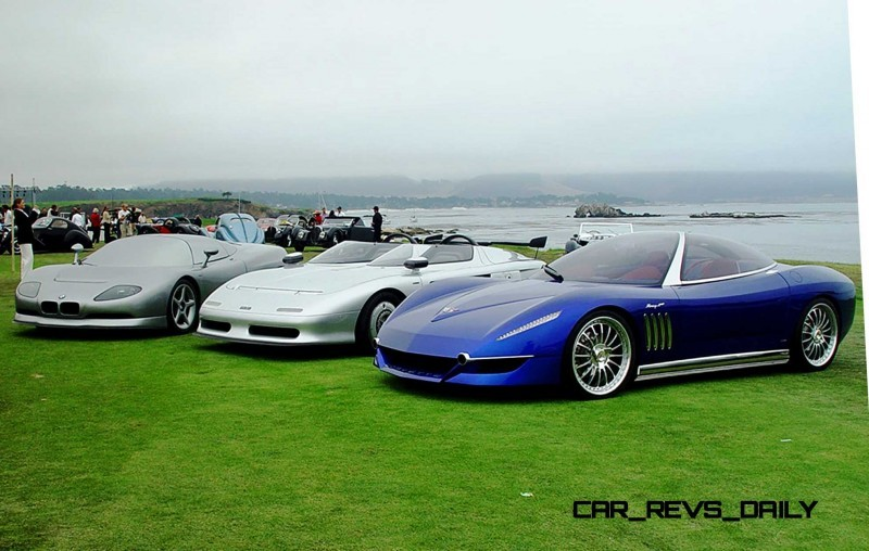 2003 ItalDesign Moray Corvette By Giugiaro 32