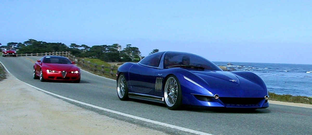 2003 ItalDesign Moray Corvette By Giugiaro 33