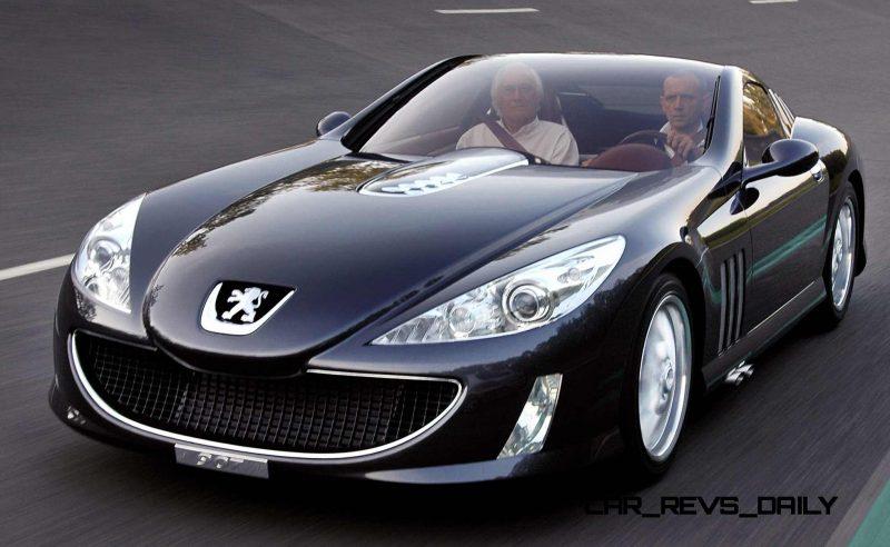 V12 Engine Cars >> 2006 Peugeot 907