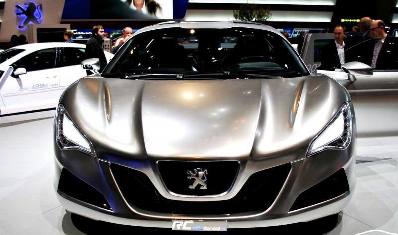2008 Peugeot RC HYbrid4 11