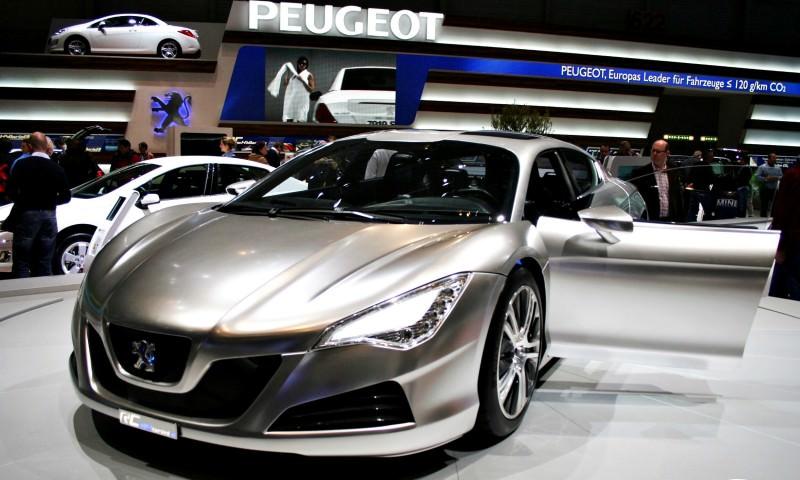 2008 Peugeot RC HYbrid4 13