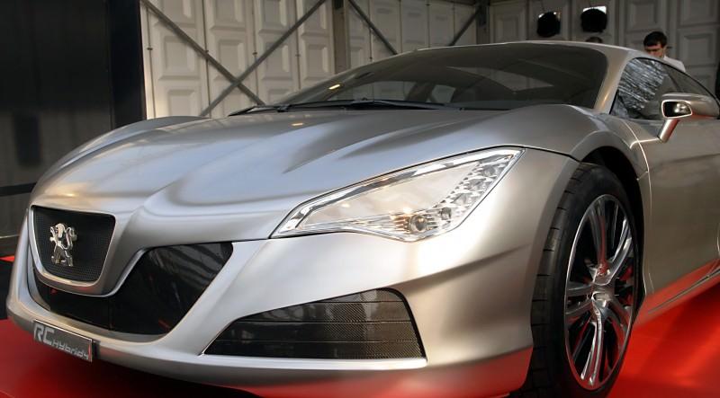2008 Peugeot RC HYbrid4 3