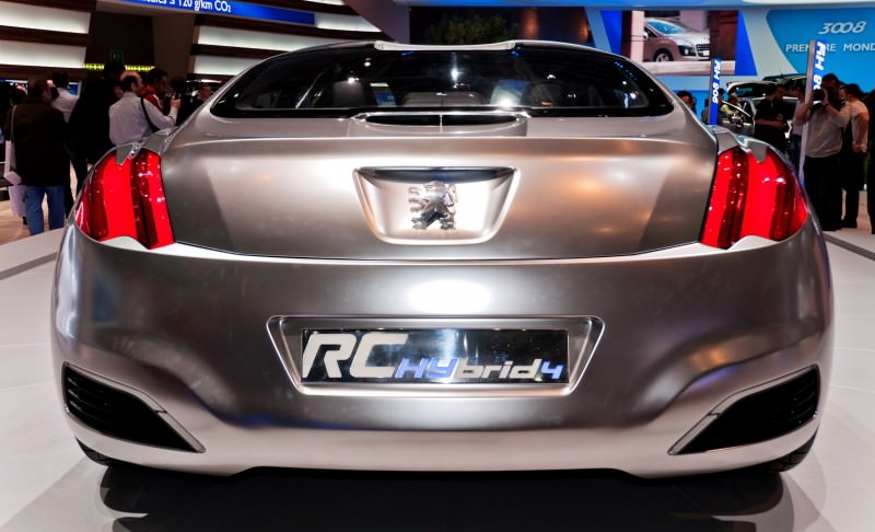 2008 Peugeot RC HYbrid4 6
