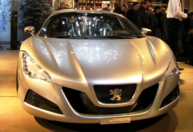 2008 Peugeot RC HYbrid4 7