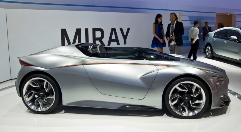 2011 Chevrolet Miray Roadster Concept 36