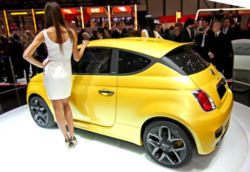2011 Fiat 500 Coupé Zagato 4