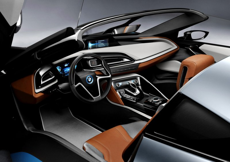 2012 BMW i8 Concept Spyder 12