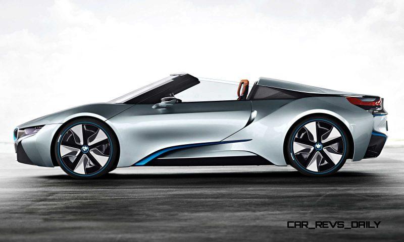 2012 BMW i8 Concept Spyder 35
