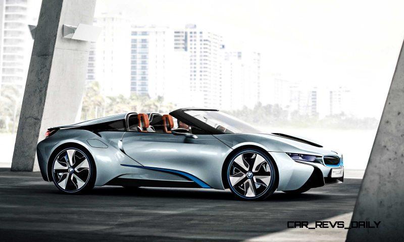 2012 BMW i8 Concept Spyder 36