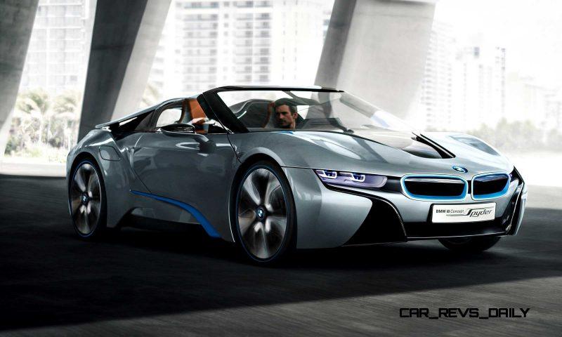 2012 BMW i8 Concept Spyder 37