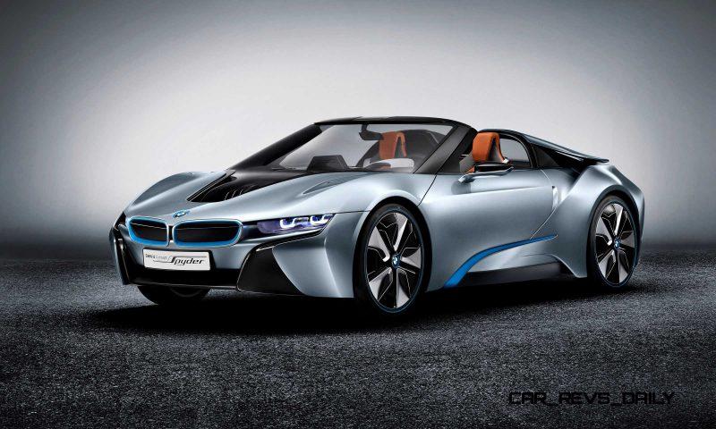 2012 BMW i8 Concept Spyder 8