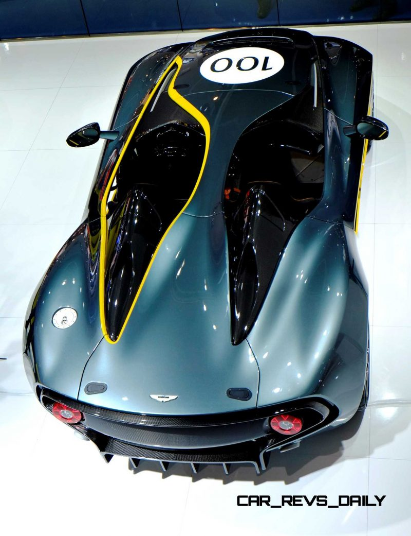 Concept Flashback - 2013 Aston Martin CC100 Speedster Was Dubbed DBR100 In Development Concept Flashback - 2013 Aston Martin CC100 Speedster Was Dubbed DBR100 In Development