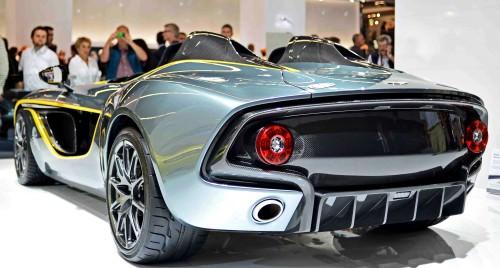 2013 Aston Martin CC100 Speedster 45