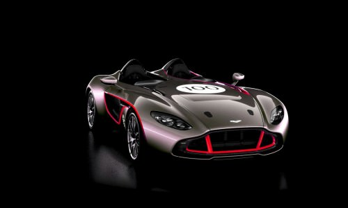 2013 Aston Martin CC100 Speedster COLORIZER red81