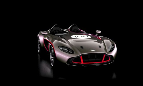 2013 Aston Martin CC100 Speedster COLORIZER red82