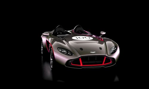 2013 Aston Martin CC100 Speedster COLORIZER red83