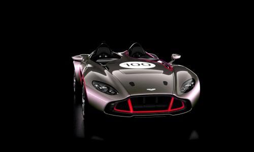 2013 Aston Martin CC100 Speedster COLORIZER red84