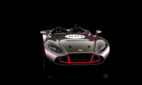 2013 Aston Martin CC100 Speedster COLORIZER red85