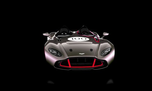 2013 Aston Martin CC100 Speedster COLORIZER red86