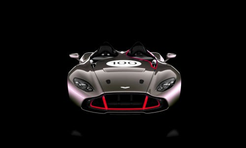 2013 Aston Martin CC100 Speedster COLORIZER red87