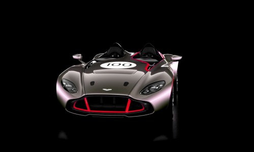 2013 Aston Martin CC100 Speedster COLORIZER red90